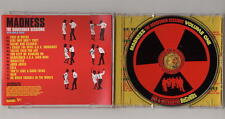 MADNESS - DANGERMEN - USA PROMO CD WITH RARE RED DISC + INLAY - SUGGS TWO 2 TONE