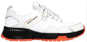 SKECHERS 232121/WBK SKECHERS STREET FLEX INJUSTICE Mn`s (M)White Fabric Atletic