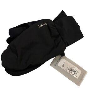 Hind Shadow Mitt Gloves, Black Unisex Small/Medium S/M 99602 NWT