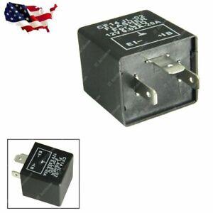 1pcs 3-Pin CF14 CF-14 JL-02 EP35 LED Flasher Relay Fix Turn Signal Hyper Flash