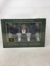 The Monster Legacy Gift Set (Frankenstein/Dracula/Wolf Man) 6 DVD, OOP, NIB