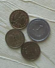 Polen 4 Stück Münzen 1 Zloty + 50 Groszy 1992,1995, 2009 + 2012 gültige Währung