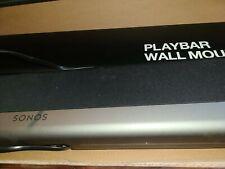 New listing Sonos Playbar sound bar + Wall Mount