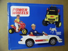 1992 KRANSCO POWER WHEELS TOY FAIR CATALOG Battery Powered Vehicles Jeep Barbie