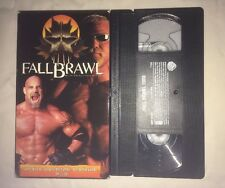 WCW Fall Brawl 2000 (VHS, 2000) NWO WWF WWE GOLDBERG SCOTT STEINER NON RENTAL