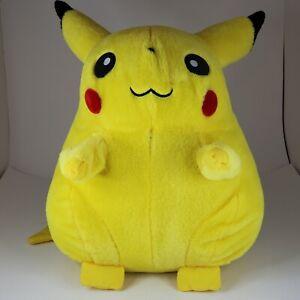 """Original Pikachu Plush 1999 Jumbo Vintage RARE Nintendo Hasbro 16"""" *See photos*"""