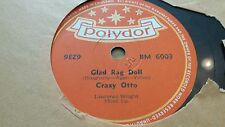 CRAZY OTTO GLAD RAG DOLL & SMILES POLYDOR BM6003