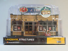 WOODLAND SCENICS O SCALE J. FRANK'S GROCERY STORE BUILT & READY gauge 5851 NEW