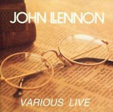 John Lennon / Various Live  cd