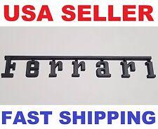 3D ~ Ferrari ~ Metal ~ Matte Black ~ Emblem Mark Badge Logo Decal