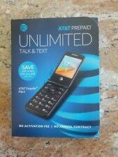 At&T Cingular Prepaid Flip 2 Cell Phone, 4Gb, Dark Gray Sealed
