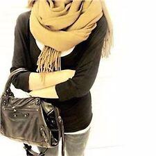 1.8M M lungo largo marrone viscosa caldo inverno sciarpa scialle, Unisex NATALE