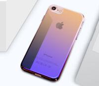 Für iPhone 8 7 Gradient Case Farbwechsel Hülle Transparent Schutz Cover