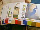 Fifteen Different Audobon Bird Prints Vivid Colors Solutias Ultron Color Folio