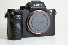 Sony a7r II solo chassis importazione model (nessun menu tedesco)