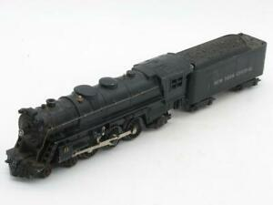 Marx Non-Smoking Die Cast 333 with Matching Die Cast New York Central Tender