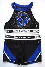 New listing Cheer Athletics AL Cheerleading Uniform Practice Rebel Adult Large Rhinestones