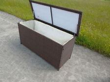 Contenitori e scatole in plastica marrone per la casa