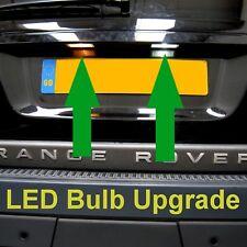 Range Rover Sport Rear Number plate light lamp LED bulb upgrade T10 Osram CANbus
