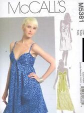 Pattern McCalls Sewing Woman Summer Dress 3 Style Sz 4-12 OOP NEW