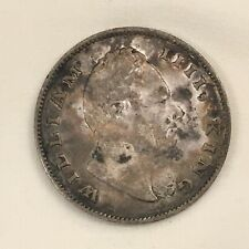 1835 India-British One Rupee East India Company Silver Coin