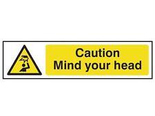 Scan - Caution Mind Your Head - PVC 200 x 50mm