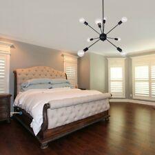 Black Industrial Ceiling Light Chandelier Pendant Fixture 8 Lights Home Modern