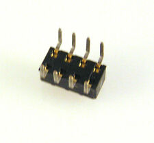 "0.118"" PCB DIL Header Socket 8 Way Legs Splayed to 6mm EB25 10 pieces"