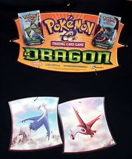 Nintendo Pokemon TCG Exclusive Retail EX Dragon Display Kit + 5 Bagon Promos!