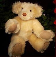 Jointed Mohair ? Teddy Bear Vintage 1988 Signed KB Kathy Bannan Bears