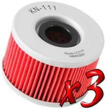 3 Pack: Oil Filters Pro Series Powersports Cartridge K&N - For Honda ATV / SxS