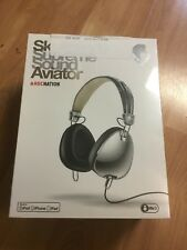 Skullcandy Roc Nation Aviator Headphones For iPod iPhone Model S6AVDM-158 *RARE*