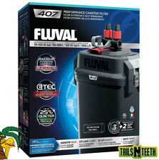 Fluval 407 Performance Canister Filter - for Aquariums Up To 100 US Gallons