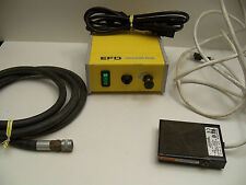 EFD Vacuum Pen Model 10VAC Power Cord, Foot Pedal, Air Hose Tested & Working
