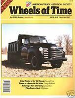 White 3000 truck restoration, Model GK-20, Dart 150, Mack EG, Kirkland Show