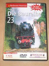 RARE DVD DOC TRAIN EN ALLEMAND / DIE BAUREIHE 23 / TRES BON ETAT