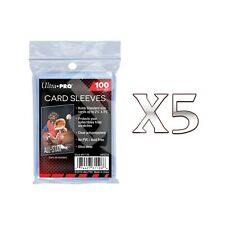 ULTRA PRO 100 CARD SLEEVES x5