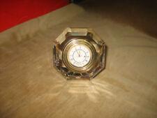SWAROVSKI CRYSTAL RARE ' EL DORADO CLOCK ', mint in box