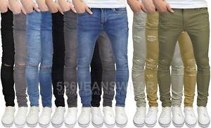 Jack & Jones Men's Liam Skinny Stretch Jeans & Ripped Chinos, BNWT