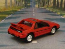 1985 - 1988 Pontiac Fiero GT V-6 Sports Car 1/64 Scale Limited Edition J