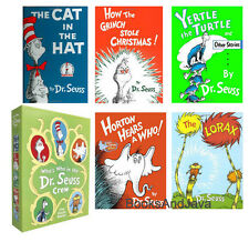 Who's Who in the Dr. Seuss Crew Cat in the Hat,Lorax,Grinch (Hardcover Box Set)