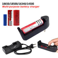 For 18650 16340 14500 26650 Li-ion Universal 3.7V Rechargeable Battery Charger