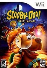 Scooby-Doo First Frights (Nintendo Wii 2009) Game, manual and case