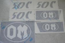 Serie Decalcomania-Adesivi Per Trattore OM50C...