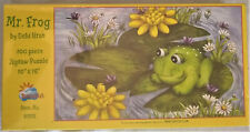 """SunsOut 100 Piece """"Mr. Frog""""  Puzzle based on art of Debi Hron - New 10"""" x 16"""""""