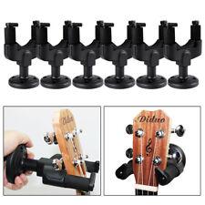 6 pack Guitar Hook Hangers Wall Mount Stands Electric Bass Ukulele Rack Holder