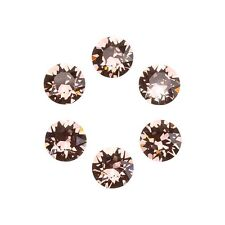 Swarovski 1088 Crystal XIRIUS Chatons Blush Rose Foil Back SS29 6mm (E98/1)