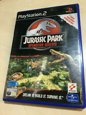 JURASSIC PARK OPERATION GENESIS for the PLAYSATION 2 PS2