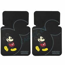 New Mickey Mouse Vintage 2 piece set Car Truck SUV Front Rubber Floor Mats