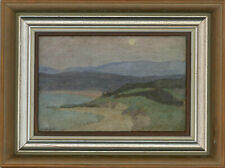 More details for bloomsbury school 20th century oil - twilight on the coast